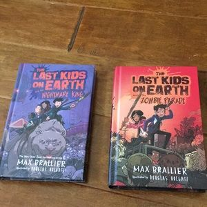 Other - LOT The Last Kids On Earth books. By Max Brallier.
